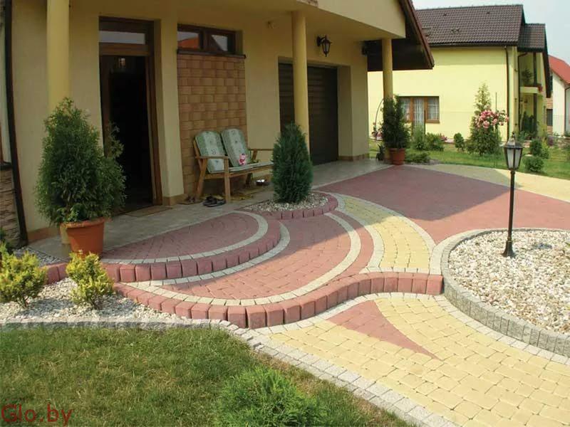 Укладка тротуарной плитки недорого Солигорск и район