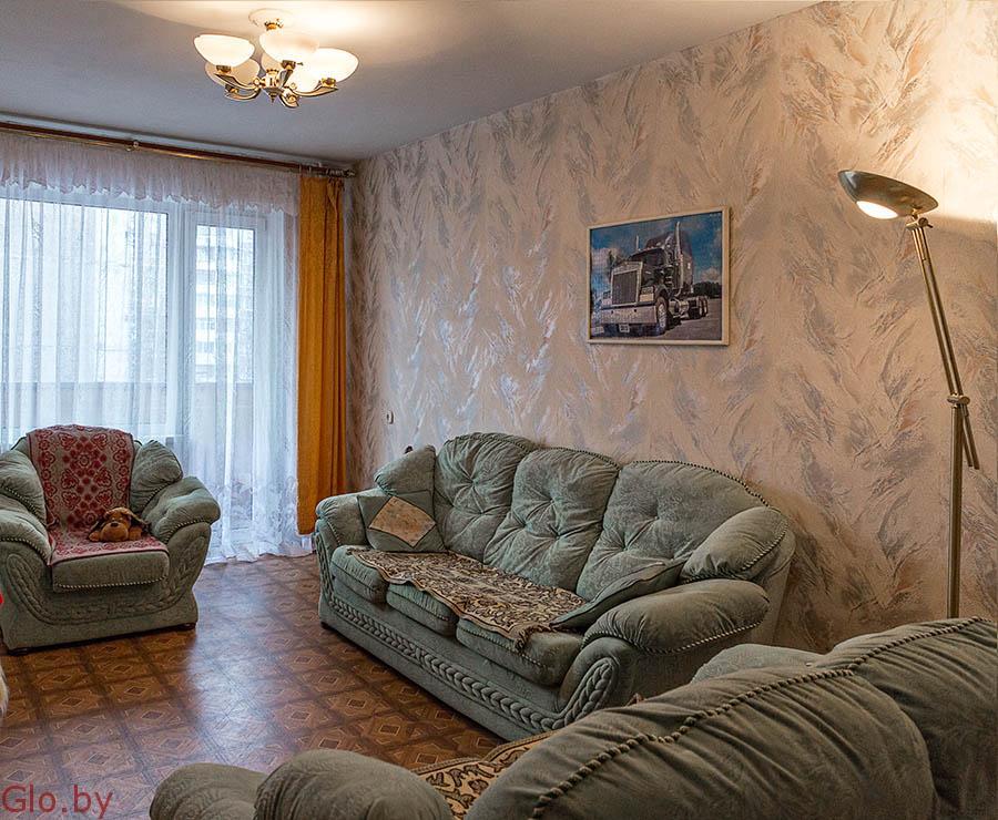 3-х комнатная квартира в Новополоцке с хорошей историей