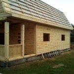 Деревянные Дома и Бани из бруса строим безупречно. Малорита