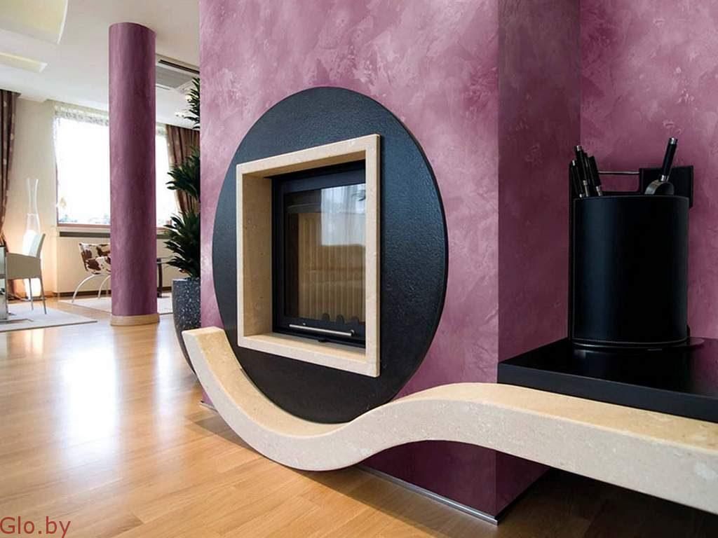Нанесение декоративной штукатурки:помещения, фасады.