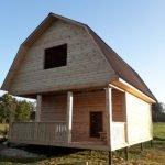 Дачный Дом сруб новый из бруса с доставкой и установкой за 10дней
