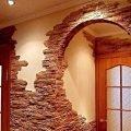 Облицовка стен мозаикой, декоративным камнем.