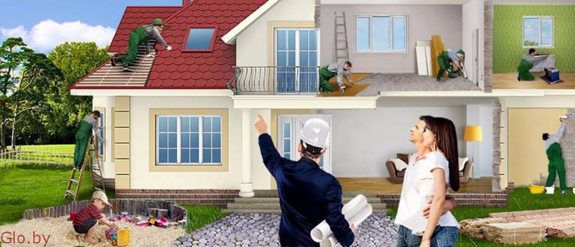 Комплексный ремонт в загородных домах