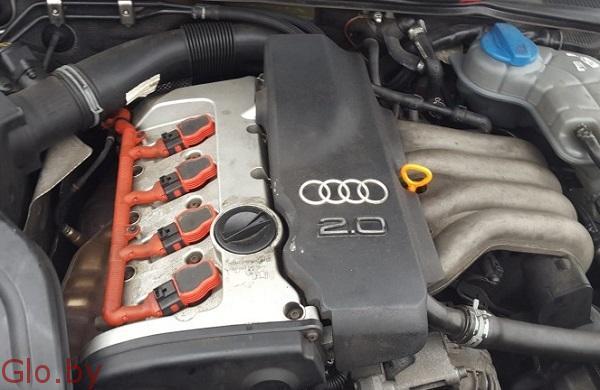 Двигатель бензиновй для Ауди А4, 2001 год