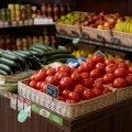 Магазин овощей, фруктов, мороженного