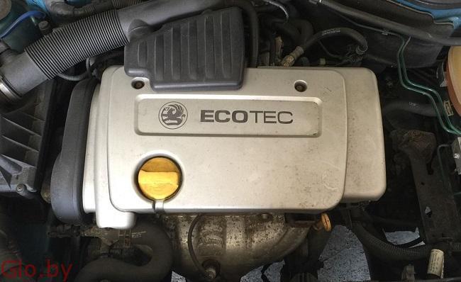 Двигатель для Опель Астра G , 2001 год
