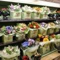 Цветочный магазин при входе в ТЦ