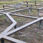 Фундамент на сваях установим под ключ в Горках и районе