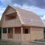 Построим Сруб Дома Верона 6х6 м брус в Вилейке