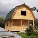 Строим Дома, сруб из бруса 6×8 в Осиповичах и рн