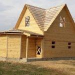Дома из бруса Михаил 6×8 с установкой в Сморгони