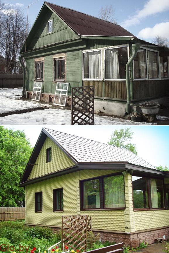 Капитальный и косметический ремонт дач.