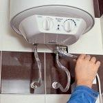 Установка проточного/накопительного водонагревателя. Орша