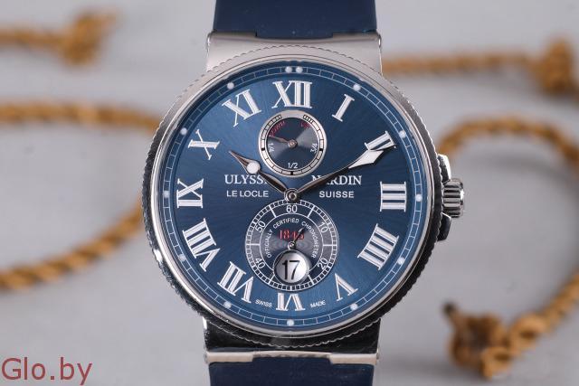 Кварцевые Часы Ulysse Nardin Maxi Marine недорого.