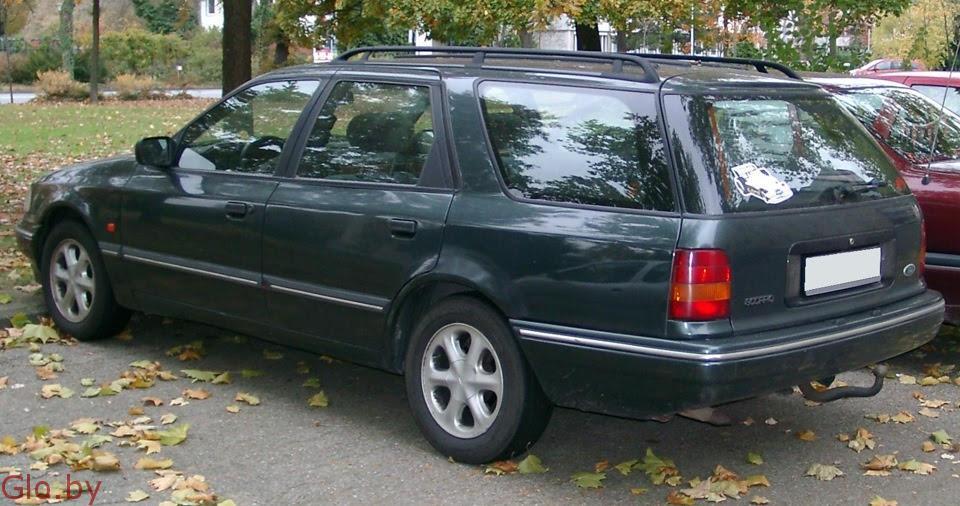 Ford Scorpio 1992 год 2.5 t.d. По запчастям.