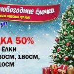 Елка с доставкой в Минске.