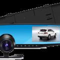 Вмдеорегистратор-Зеркало с камерой заднего вида Vehicle Blackbox DVR
