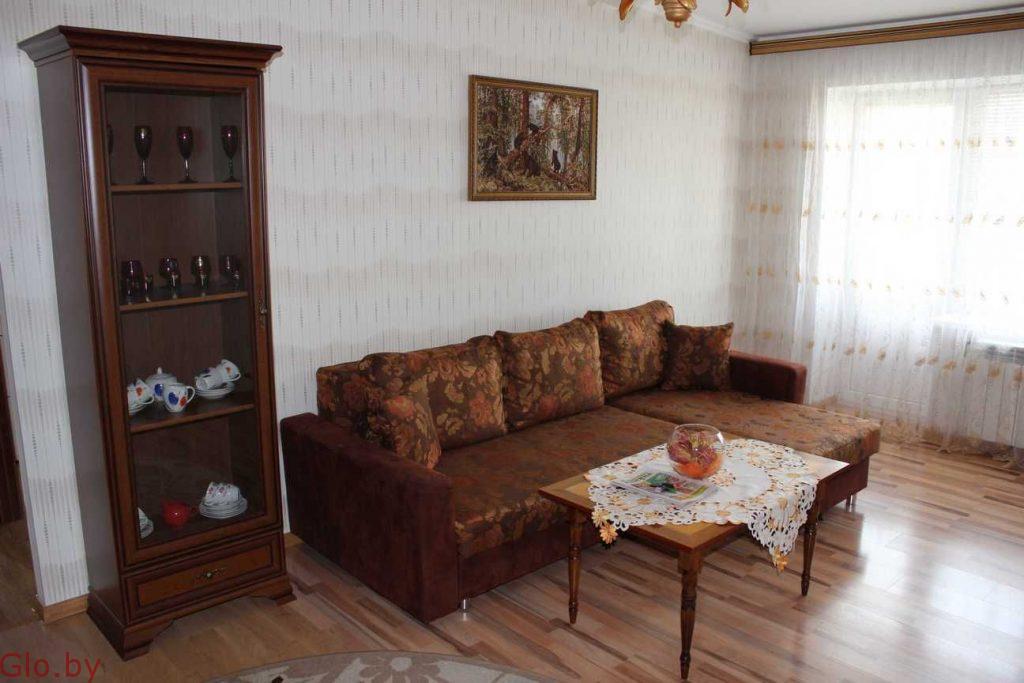 Сдается уютная квартира на сутки, часы в центре г.Слонима ул.В.Крайнего,27