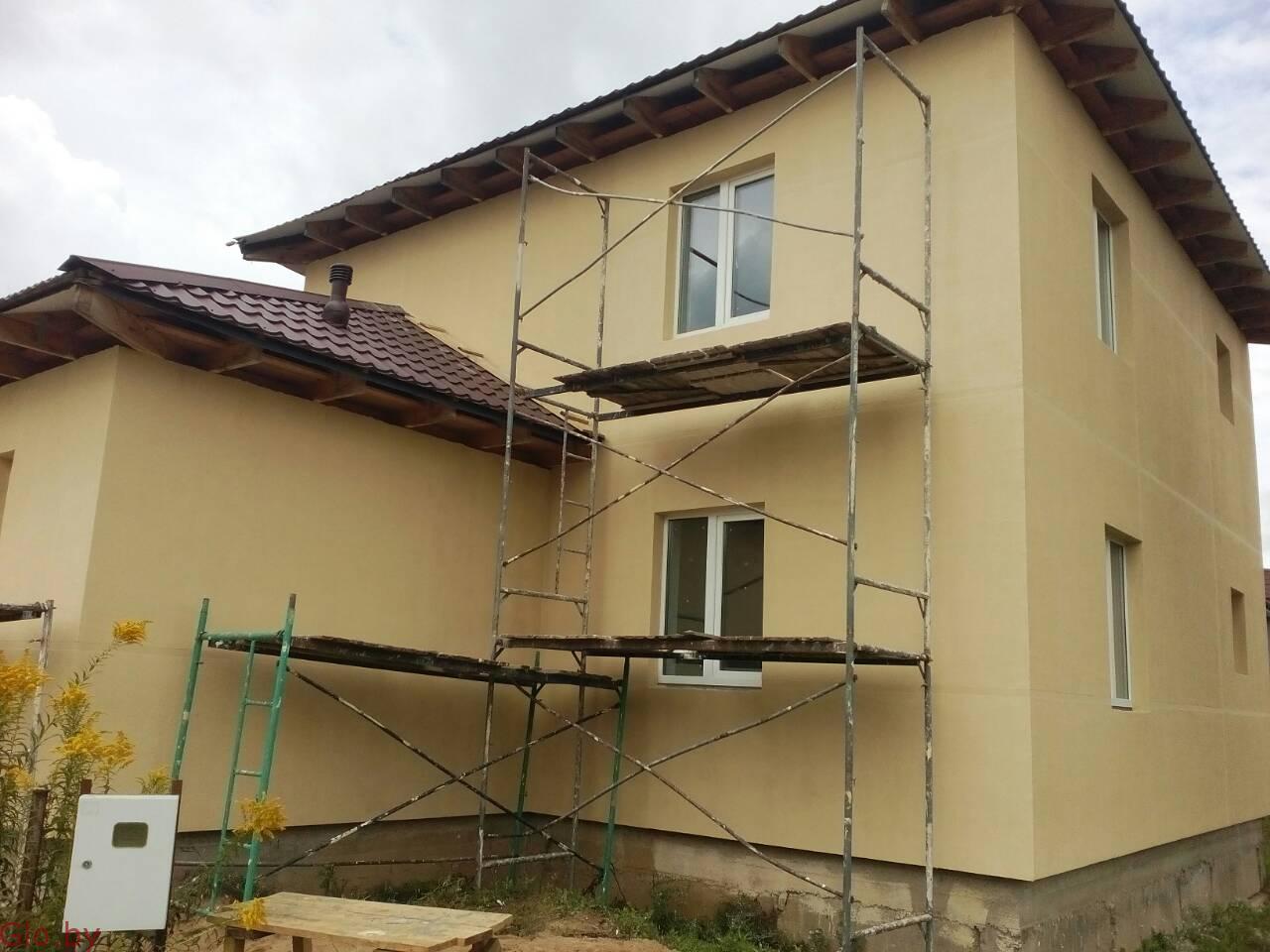 Утепление частного дома, отделка фасадов