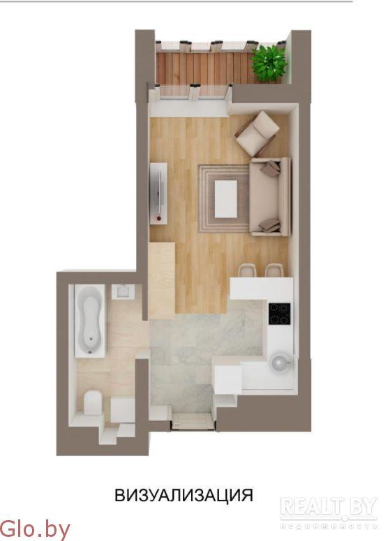 Продается квартира-студия