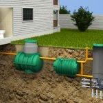 Установка септика и канализации для частного дома.
