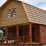 Построим Дом из бруса 6х8 м (мастера своего дела) .