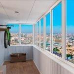 Остекление балконов и лоджий под ключ недорого