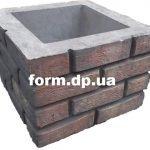Форма для наборного столба К-15