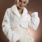 Прокат стильных свадебных шубок