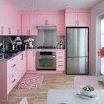 Нежнейшая кухня Роза-бесплатный дизайпроект
