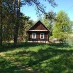 Продам дом у реки, гараж, баня. 97 км от Минска