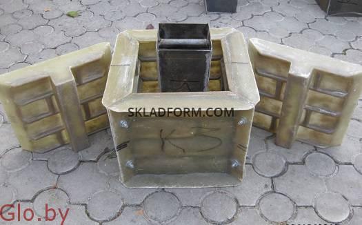 Формы для наборных столбов К-3