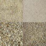 Кварцевый песок фракционный